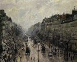 Boulevard Montmartre: Foggy Morning