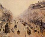 Boulevard Montmartre: Morning. Sunlight and Mist