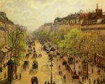 Boulevard Montmartre: Spring