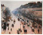 Boulevard Montmartre: Winter Morning