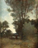 Cavalier a L'Oree D'Un Bois