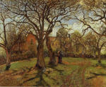 Chestnut Trees, Louveciennes, Spring