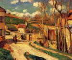 Crossroads at l'Hermitage, Pontoise
