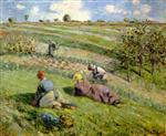 Cultivators in the Fields, Pontoise (The Hills of Auvers)