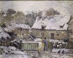 Farm at Montfoucault: Snow Effect