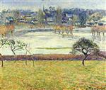 Flood, White Effect, Eragny