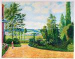Mirbeau's Garden, the Terrace
