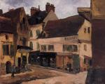 A Square in La Roche-Guyon
