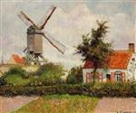 Windmill at Knocke, Belgium