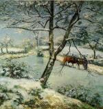 Winter at Montfoucault (The Effect of Snow)