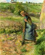 Woman Digging