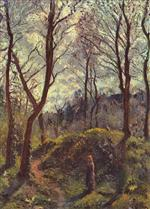 Wooded Landscape with Woman