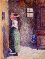 Young Peasant at Her Toilette