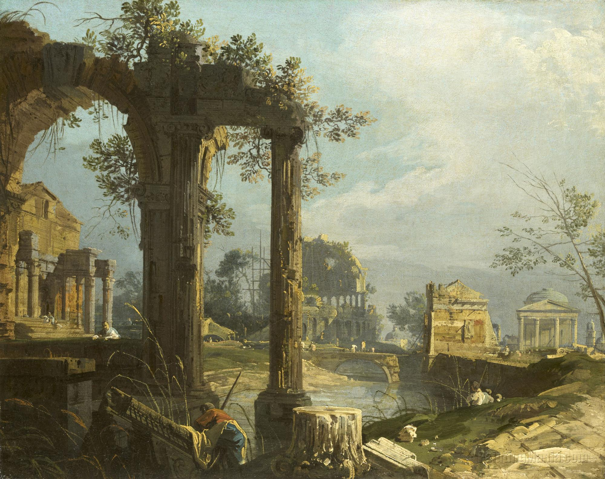 A Caprice: View with Ruins