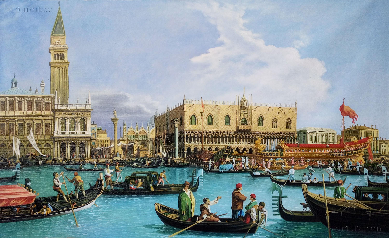 Venice: The Bacino di San Marco on Ascension Day