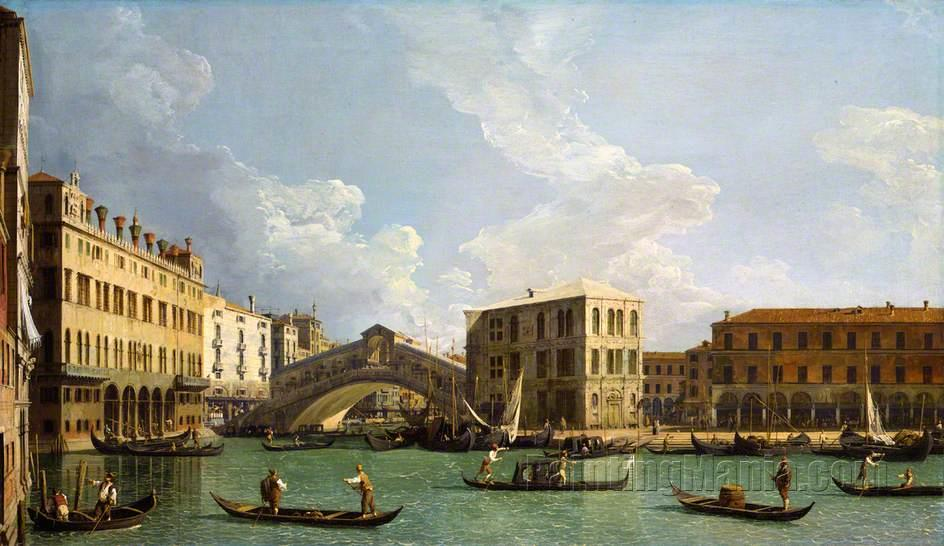 A View of the Rialto, Venice