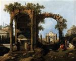 Landscape with Ruins (Picket Duty in Virginia)