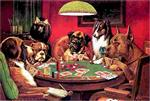 In Playing Poker