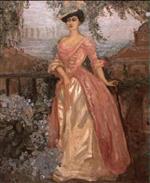 Blue Hydrangeas, Portrait of Madame Stein