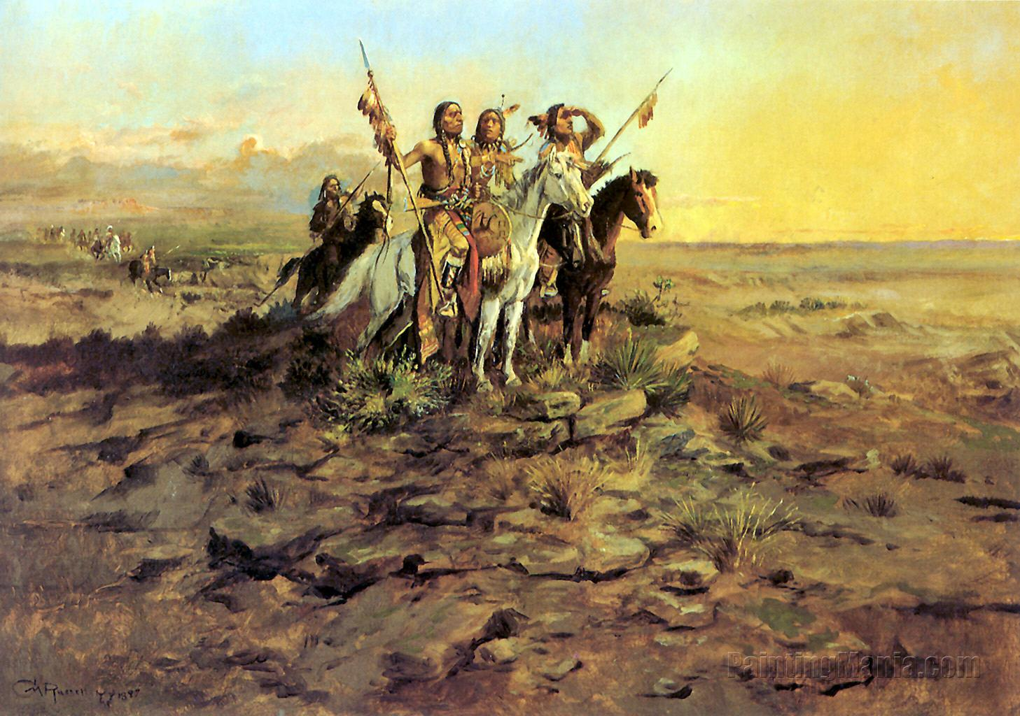 Approach of the White Men