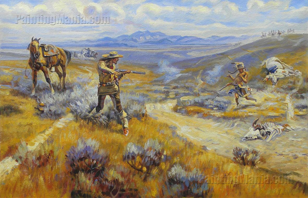 Buffalo Bill's Duel with Yellowhand
