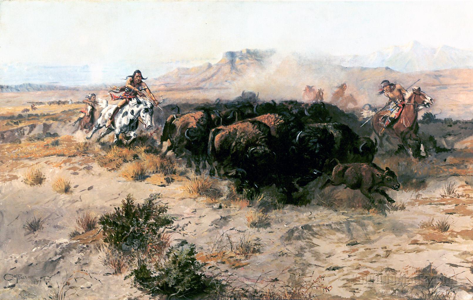 Buffalo Hunt No. 26