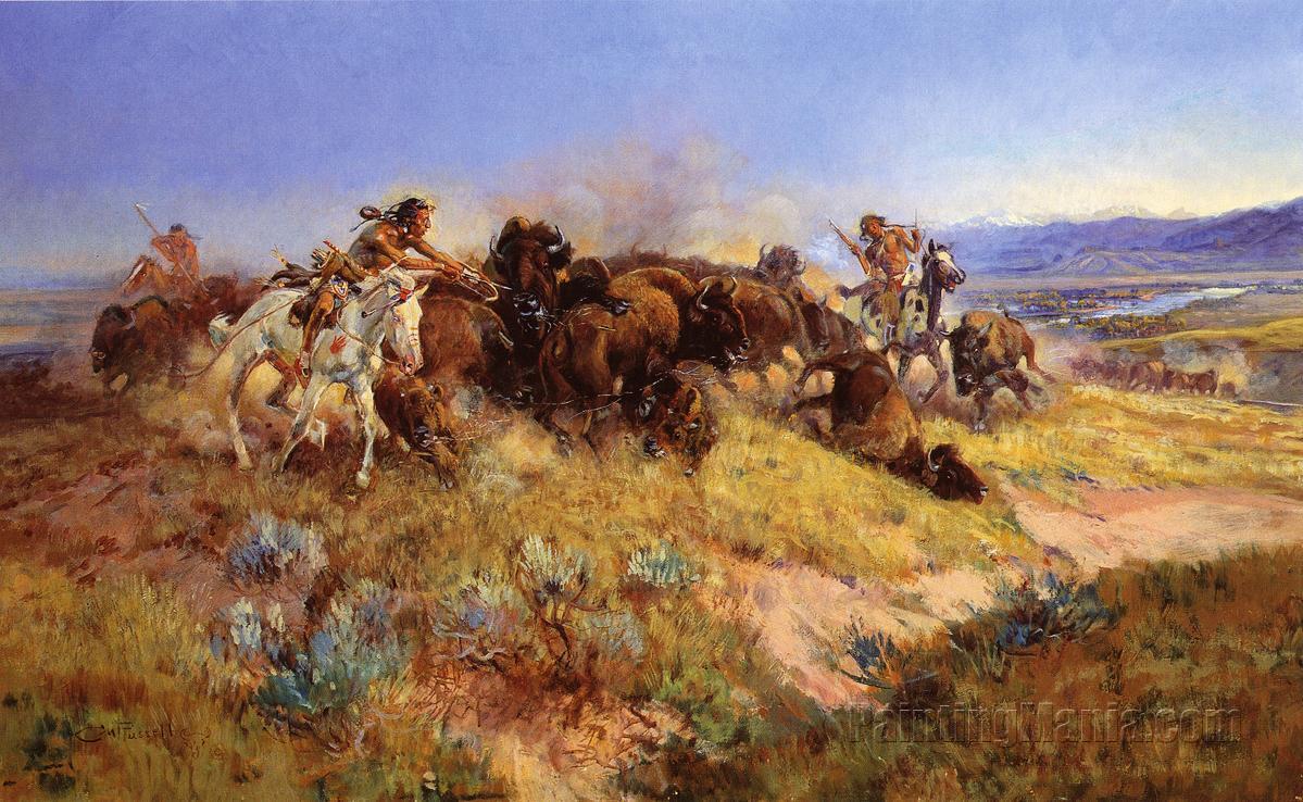 Buffalo Hunt No. 40