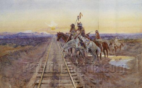 Trail of the Iron Horse 1924
