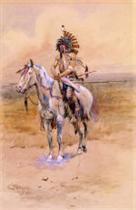 Mandan Warrior