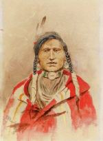 Portrait of an Indian