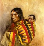 Stone-in-Moccasin Woman