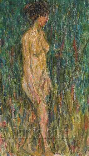 Nude Girl Outdoors