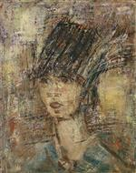 Lady with Feather Hat
