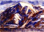 Mount Tamaro in Winter