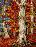Weissbuchen im Herbst