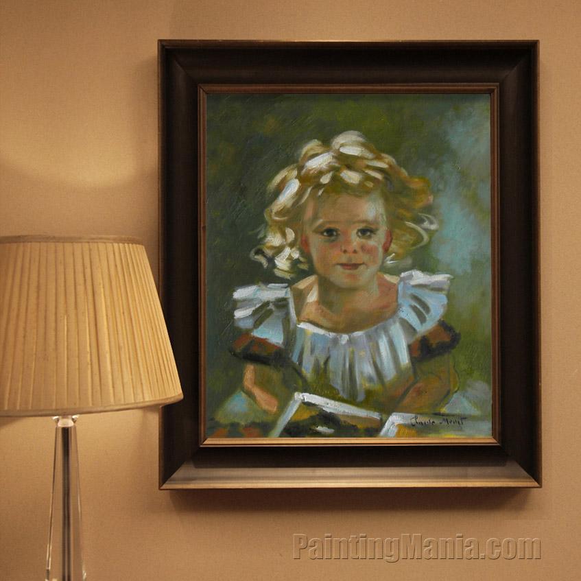 Portrait of Little Louis Gaudibert