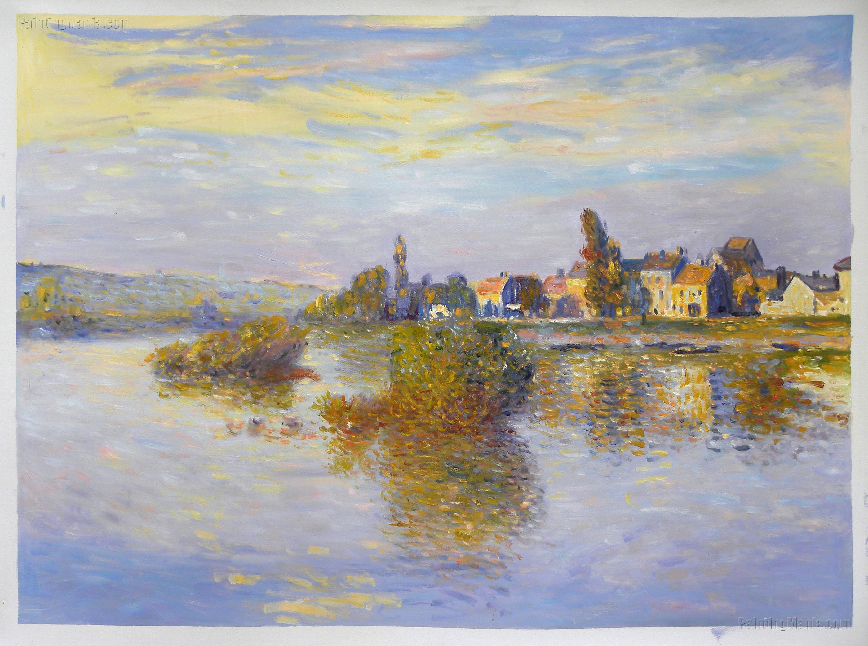 Banks of the Seine, Lavacourt