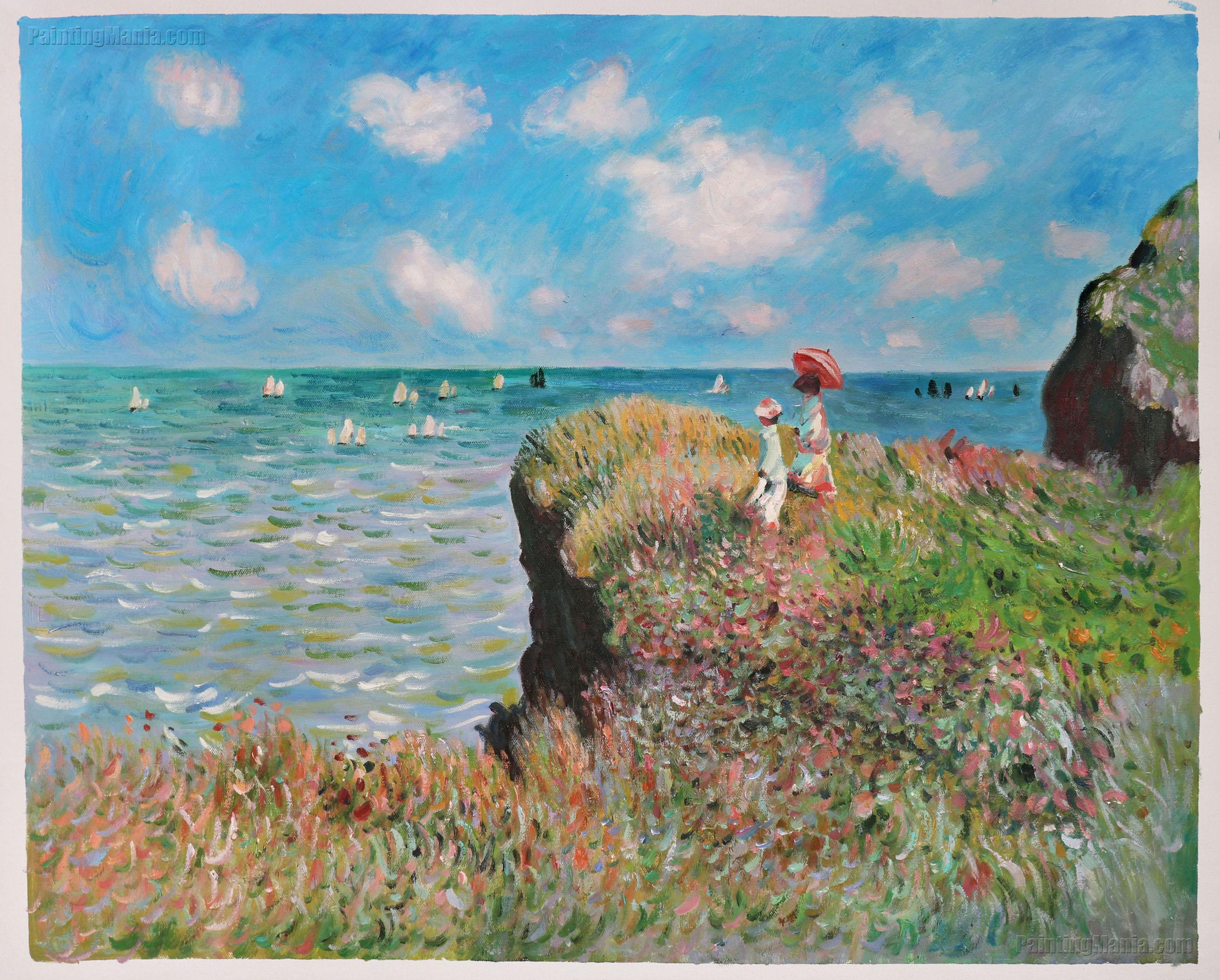 The Cliff Walk, Pourville