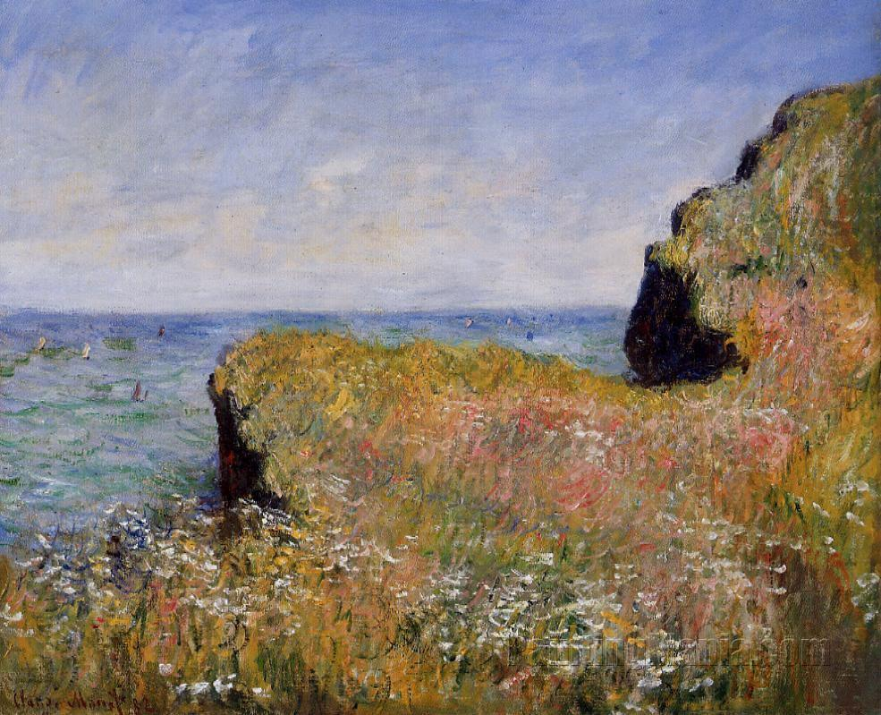 Edge of the Cliff, at Pourville