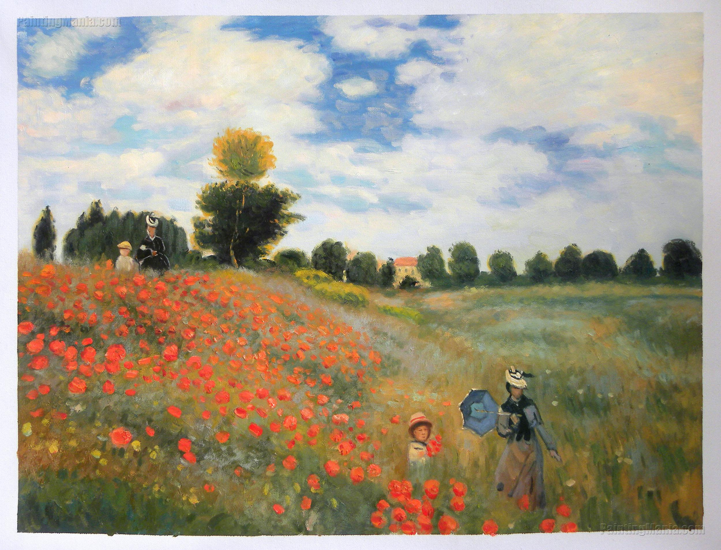 Field Of Poppies Argenteuil Claude Monet Paintings Picture To Pin On Pinterest  PinsDaddy