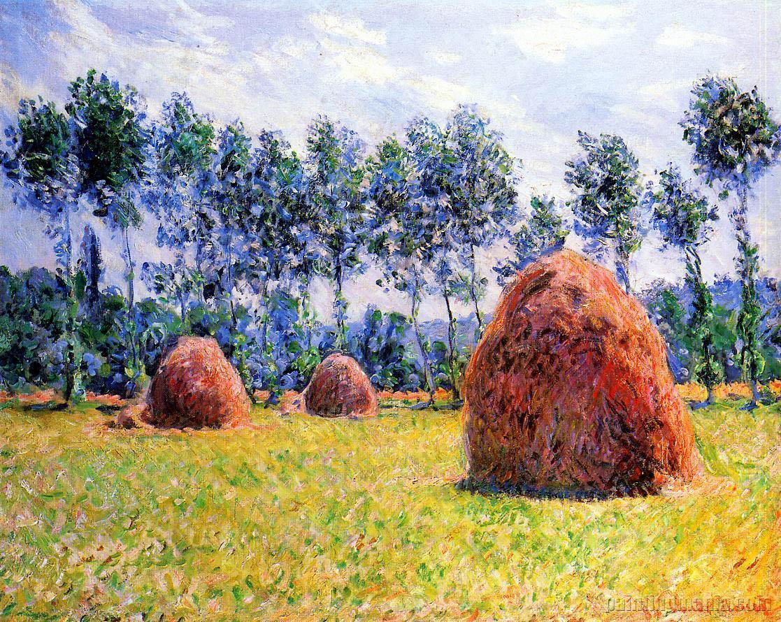 Haystacks at Giverny 1884