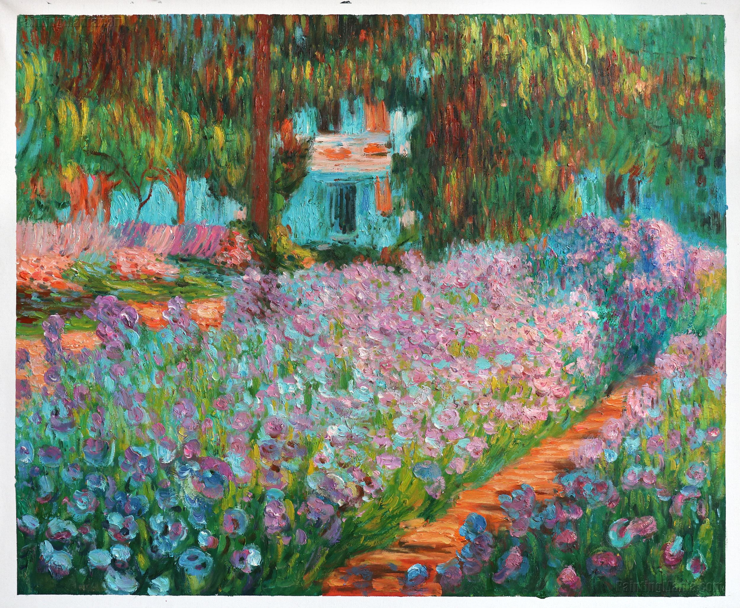 Irises in Monet's Garden 1900