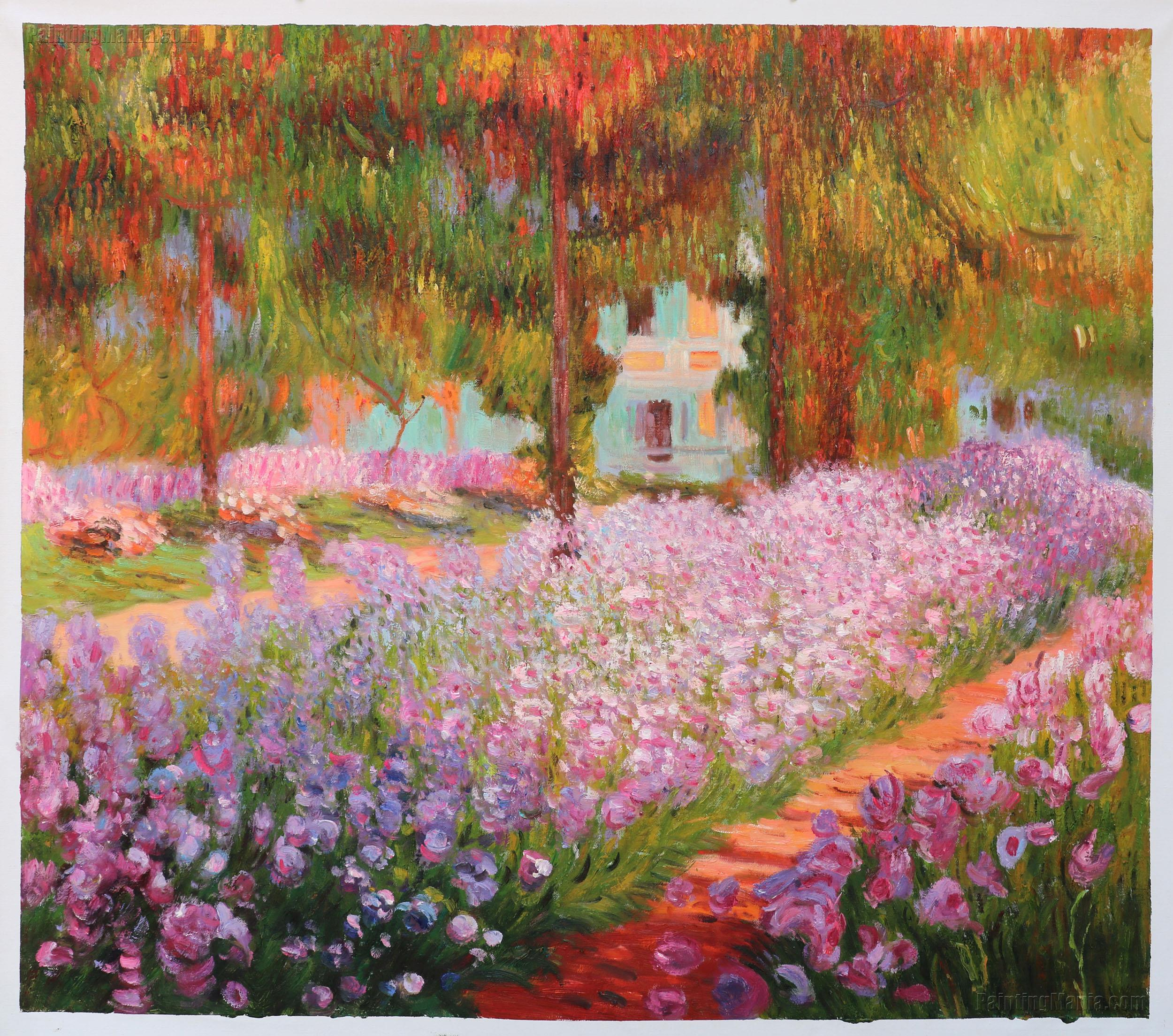 Charmant Irises In Monetu0027s Garden