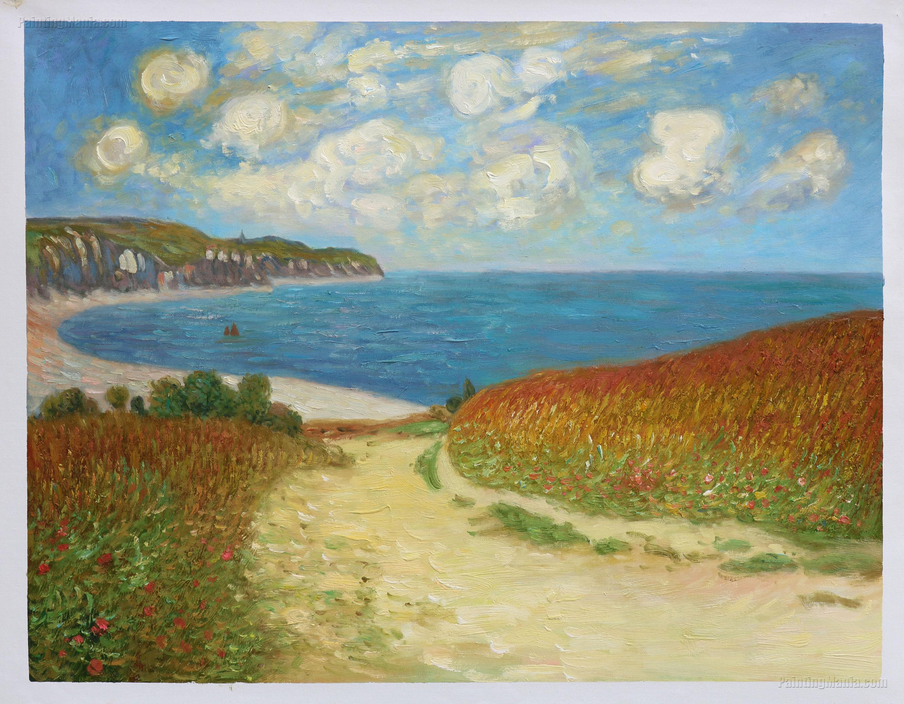 Path Through the Corn at Pourville