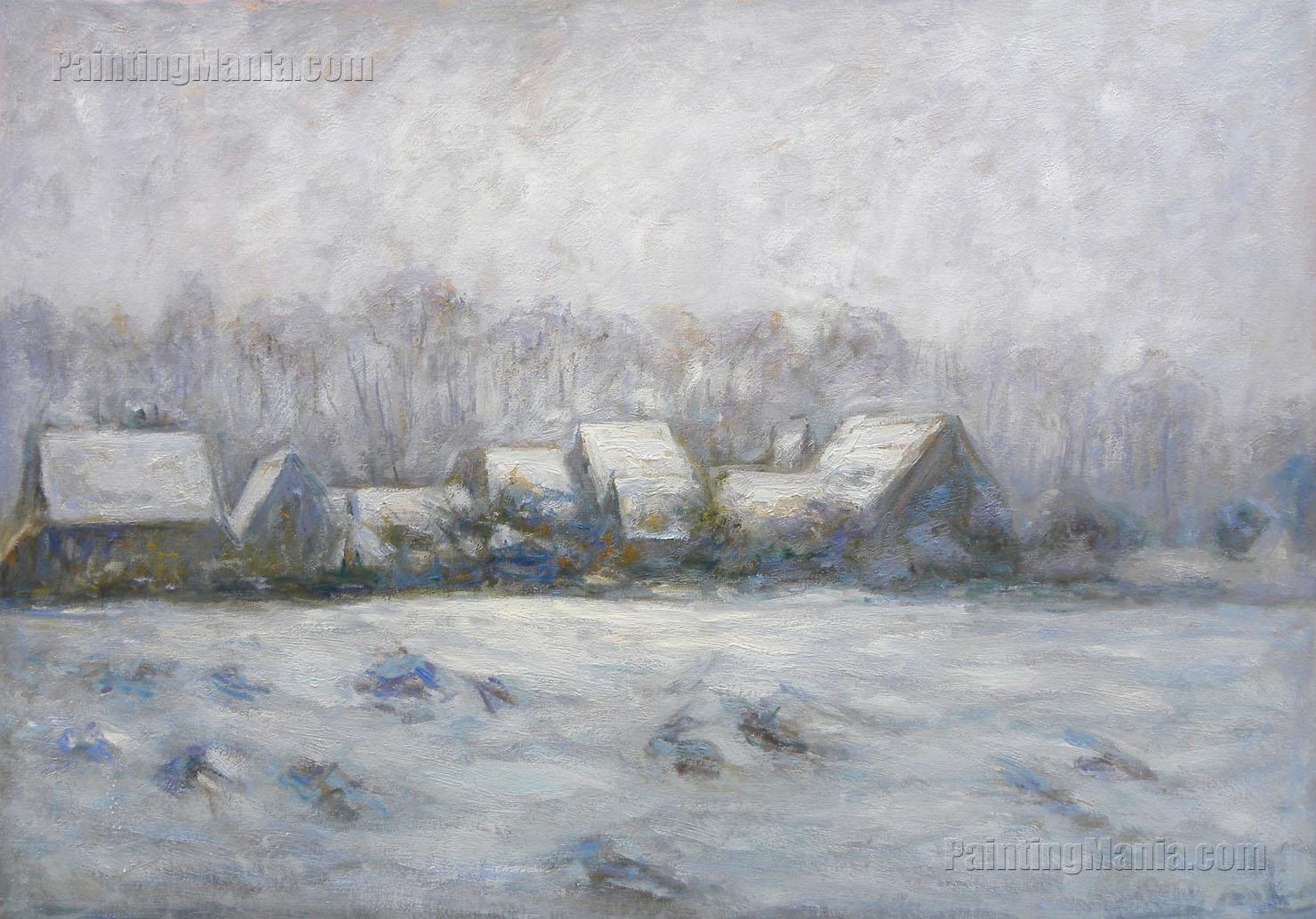 Snow Effect, Giverny