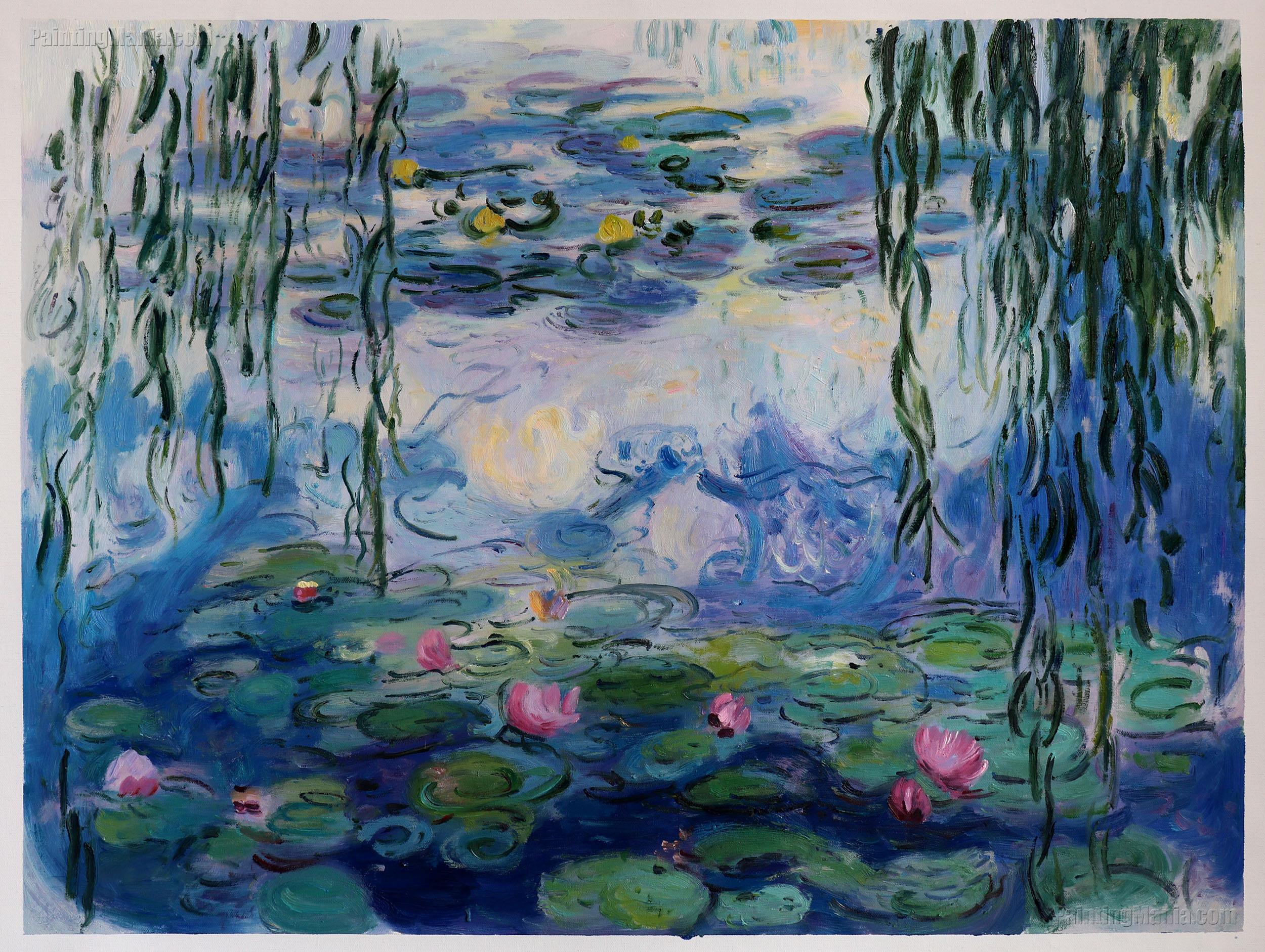 32c4bcc62 Water Lilies 1916-19 - Claude Monet Paintings