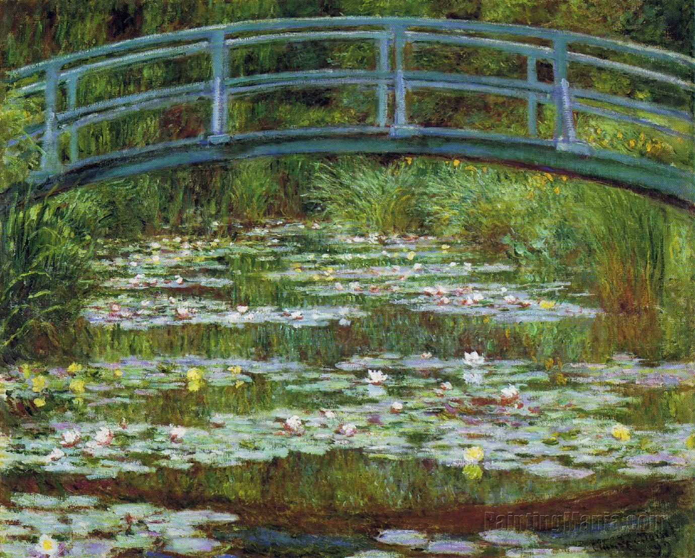 The Water-Lily Pond 8 - Claude Monet Paintings