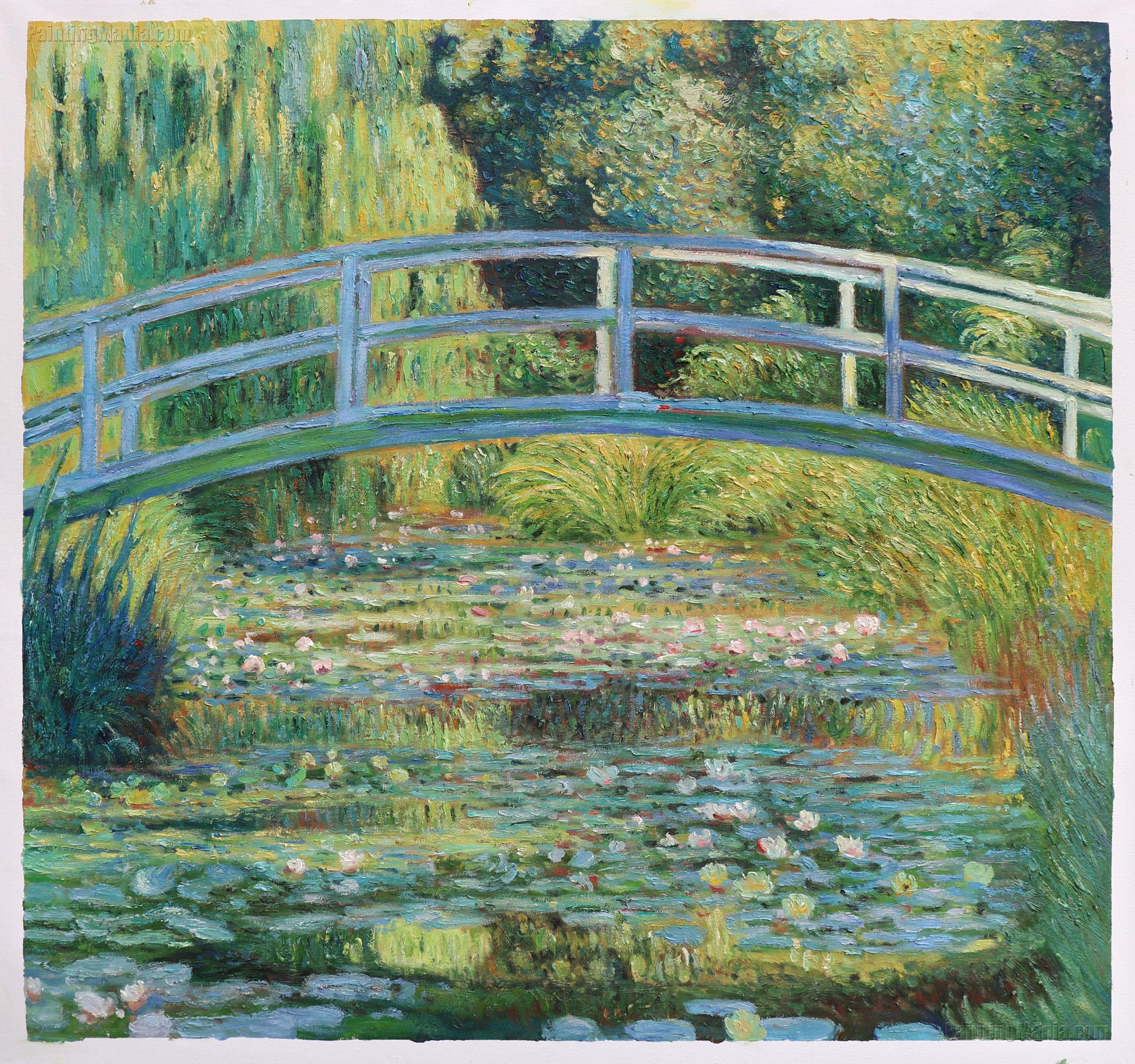 The Waterlily Pond with the Japanese Bridge
