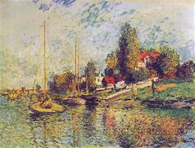 Boats at Argenteuil