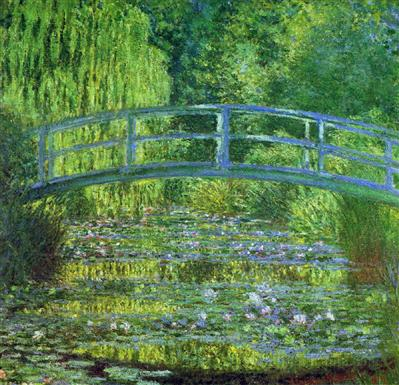 The Water Lily Pond 1899